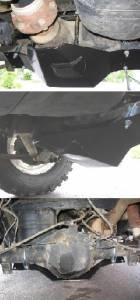 Xterra Rear Differential Skid Plate