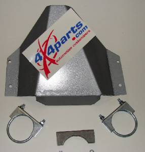 Titan Rear Differential Skid Plate