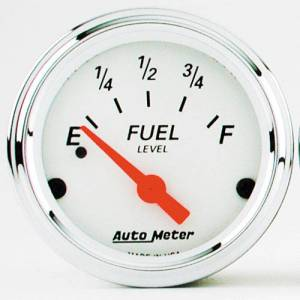 Fuel Level Gauge with Red Pointer