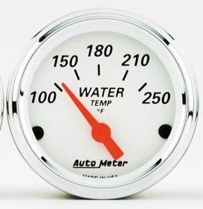 Water Temp Gauge with Red Pointer 100deg-250degF