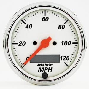 "3-1/8"" 120 MPH Electric Programmable Speedometer"