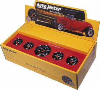 Kit Box with Mechanical Speedometer & Red Pointer