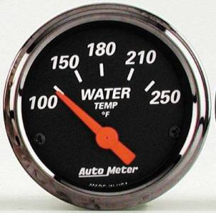 Water Temperature Gauge with Red Pointer 100??-250??F