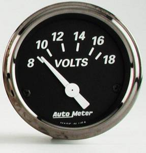 Voltmeter with Red Pointer 8-18 Volts