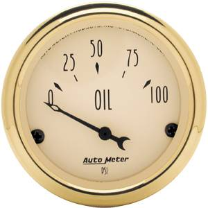 Electric Oil Pressure Gauge