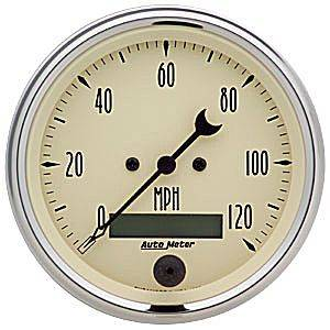 "3 3/8"" Electric Programable Speedometer"