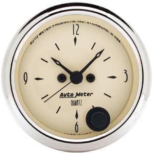 Clock With Quartz Movement