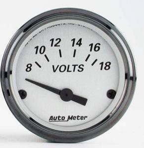 Voltmeter 8-18 Volts