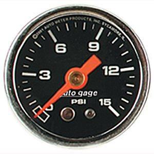 "Fuel Pressure Gauge 1-1/2"""