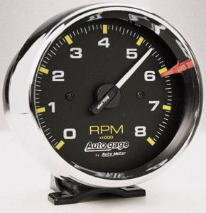 8,000 RPM Chrome Tachometer