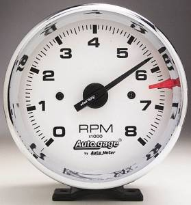 8,000 RPM Chrome Tachometer