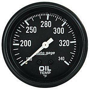 Mechanical Oil Temperature Gauge