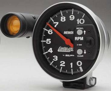 10,000 RPM Shift-Lite Memory Tachometer