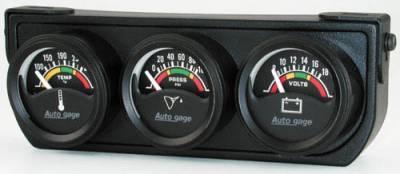 Electric Mini Three Gauge Water Temperature / Oil Pressure/ Volt