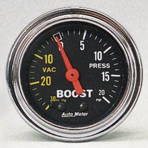 Boost 30 in Hg.-Vac./20 PSI