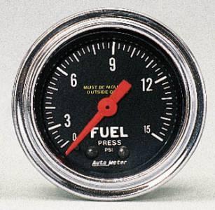 Fuel Press 0-15 PSI (carburated)