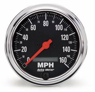 160 MPH Electric Prog. Speedometer