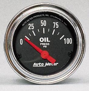 Oil Pressure 0-100 PSI