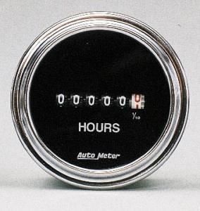 Hourmeter 8-32 volts DC input