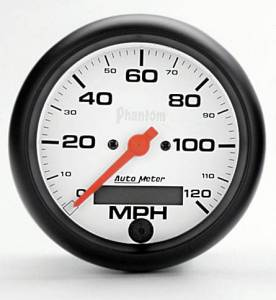 "3-3/8"" 120 MPH Electric Speedometer"