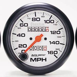 "3-3/8"" 160 3-3/8"" 160 MPH In-Dash Mechanical Speedometer MPH In-Dash Mechanical Speedometer"