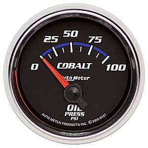 Oil Pressure Short Sweep