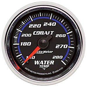 Water Temperature Full Sweep
