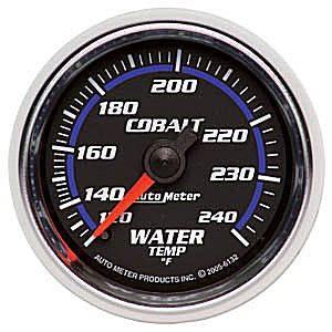 Water Temperature Full Sweep 120-240 F