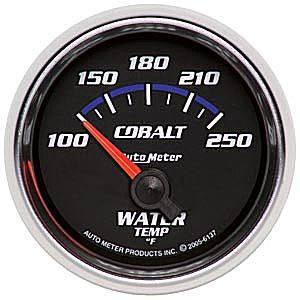 Water Temperature Short Sweep 100-250 F
