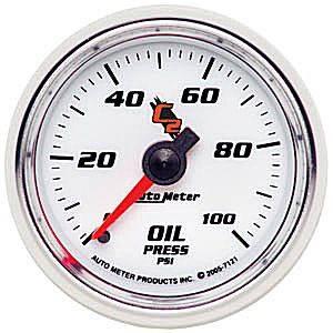"""2-1/16"""" Oil Pressure Gauge"""