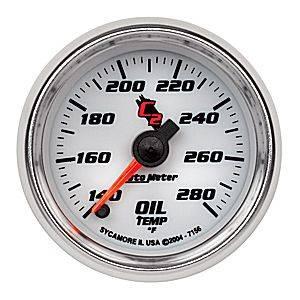 """2-1/16"""" Oil Temperature Gauge"""