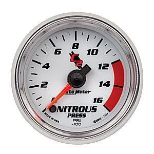 "2-1/16"" Nitrous Pressure Gauge"