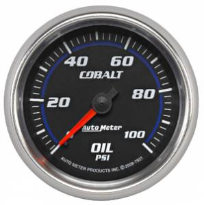Oil Pressure Full Sweep
