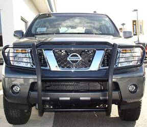 Frontier Black Grille/Brush Guard