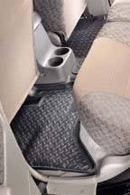 Second Seat Floor Liners