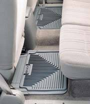Frontier Heavy Duty Rear Floor Mats