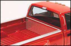 Diamond Plate Side Bed Rail Protector