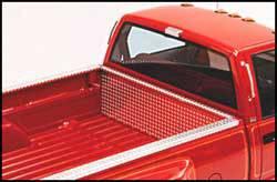 Diamond Plate Side Bed Rail Protector