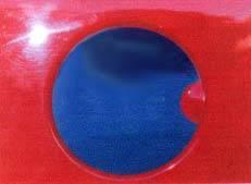 Frontier Gas Tank Door Skins