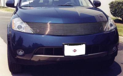 Murano Polished Billet Grille Insert