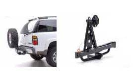 Receiver Hitch Tire Carrier