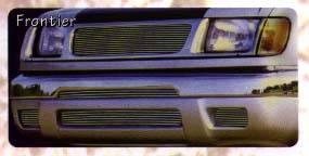 Frontier Polished Billet Fog Light Inserts