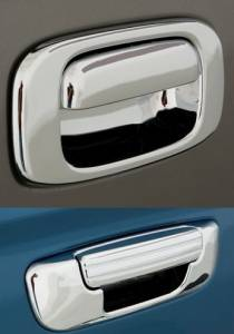 Frontier Tail Gate Handle Cover