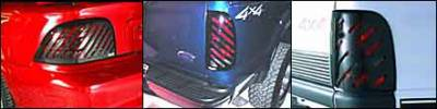 Slotted Tail Light Covers