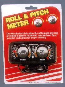 Roll & Pitch Meter