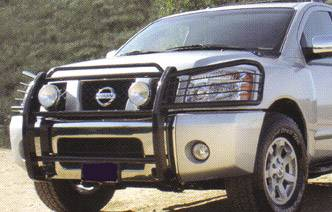 Armada Polished Stainless Grille/Brush Guard