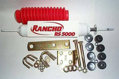 Frontier Steering Stabilizer Kit with Rancho Shock