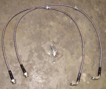 Stainless Steel Braided Brake Lines