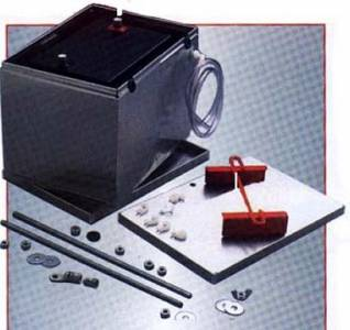 Aluminum Battery Box with Battery Cable