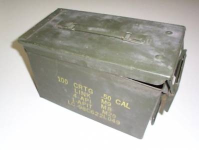 .50 Caliber Military Ammo Cans